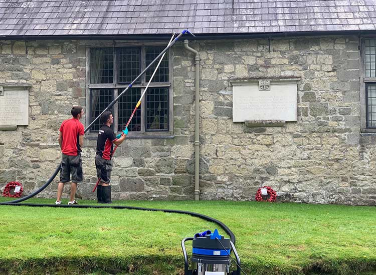 Pressure washing in Trowbridge