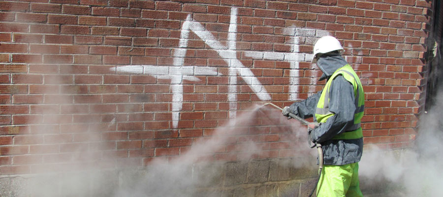 Graffiti cleaning and removal in Trowbridge, Bath