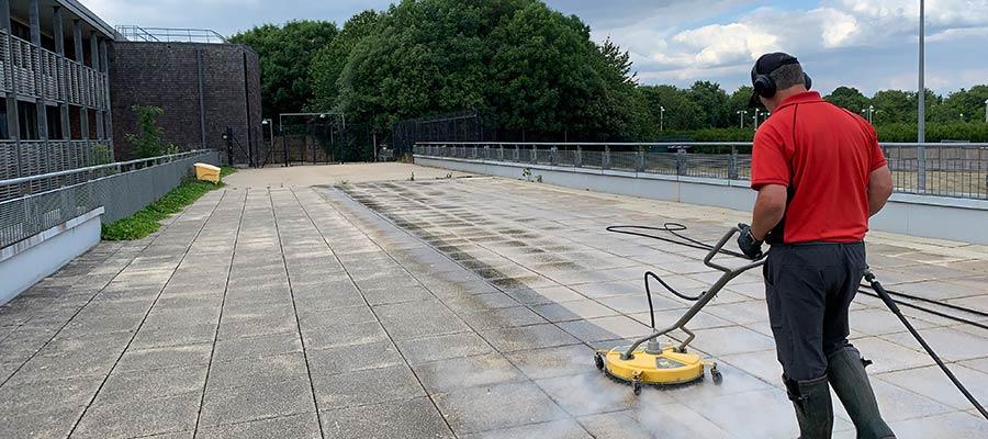 Pressure Washing in Trowbridge, Bath